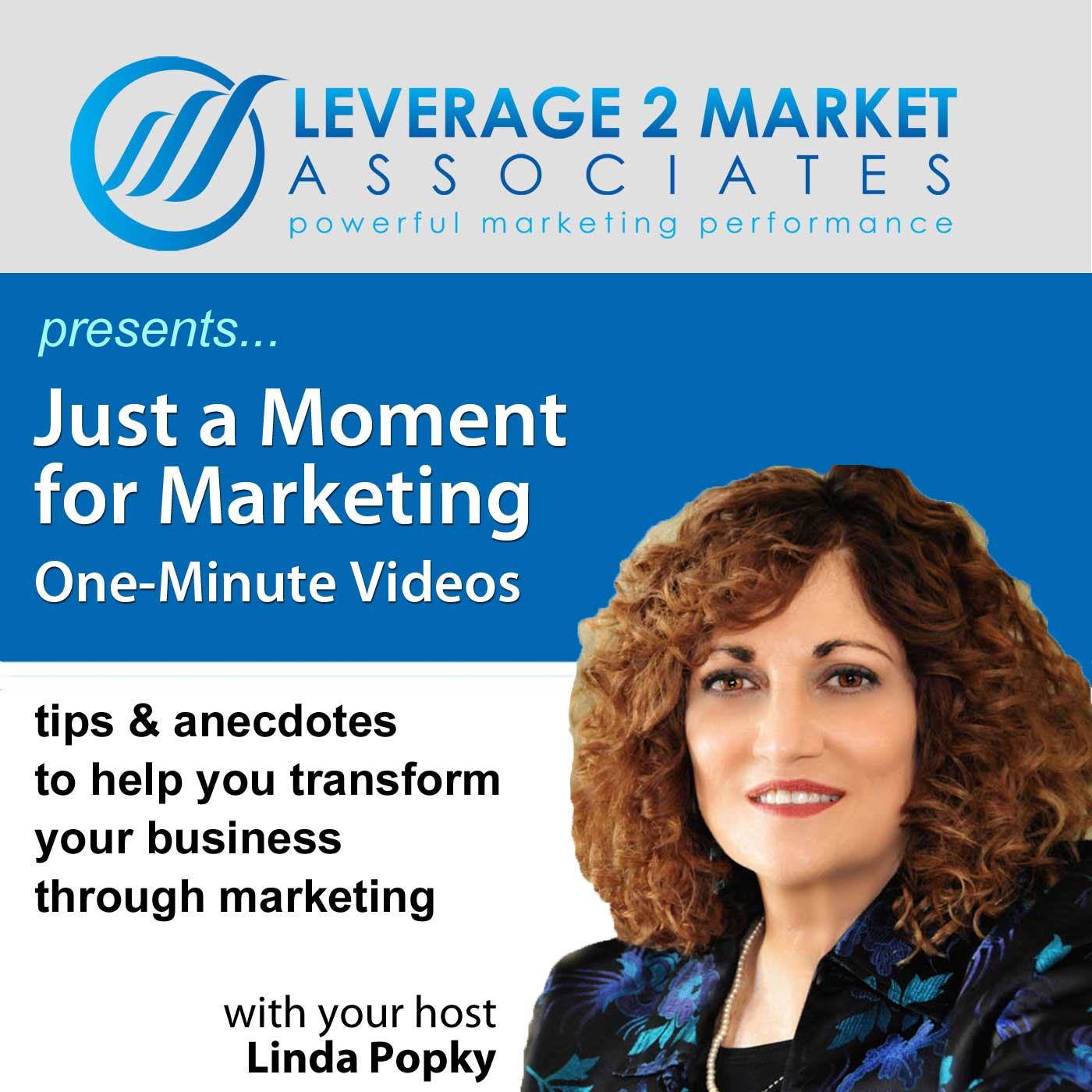Just a Moment for Marketing Video Podcast - Linda Popky