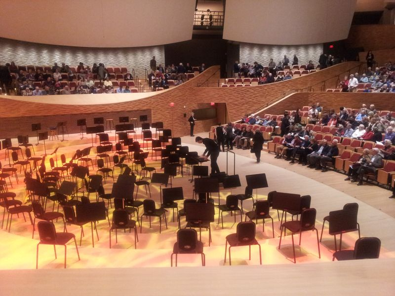 Stanford University's new Bing Concert Hall